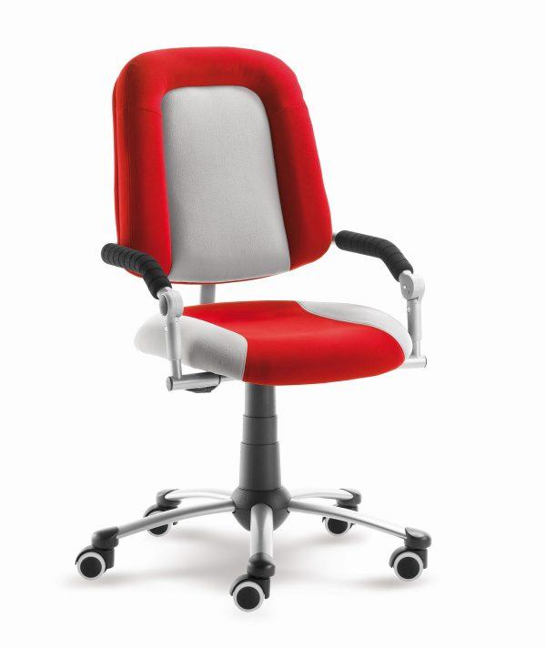 Rostoucí židle Freaky Sport červená / šedá