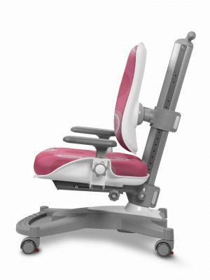Rostoucí židle Mayer MyChamp růžová s kruhy z boku