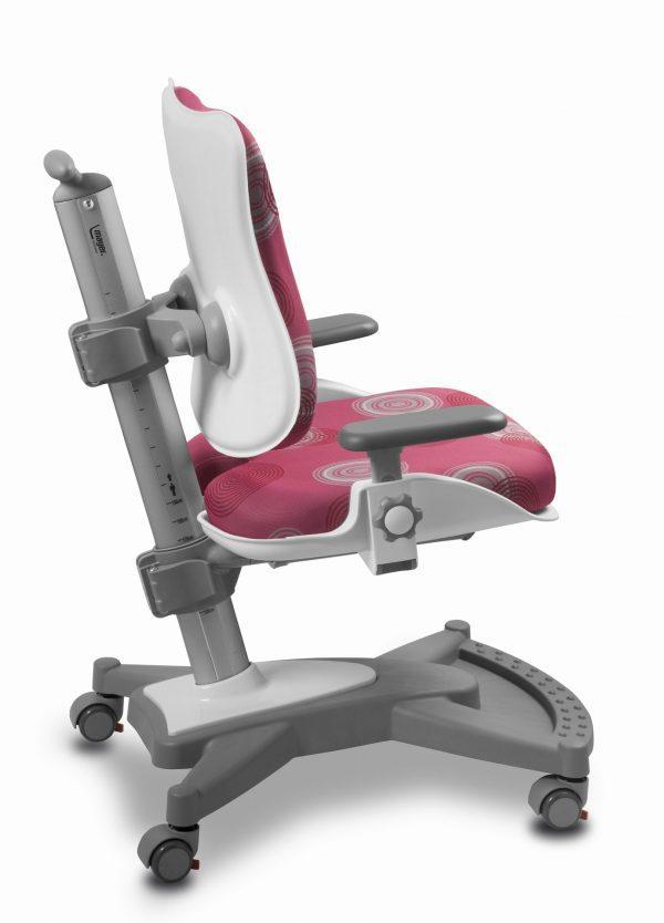 Židle pro školáky Mayer MyChamp růžová s kruhy