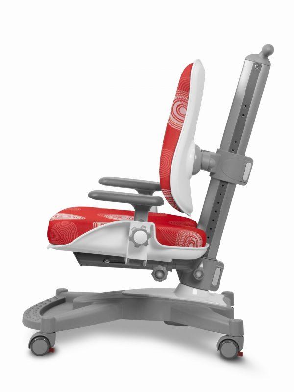 Rostoucí židle Mayer MyChamp červená s kruhy z boku