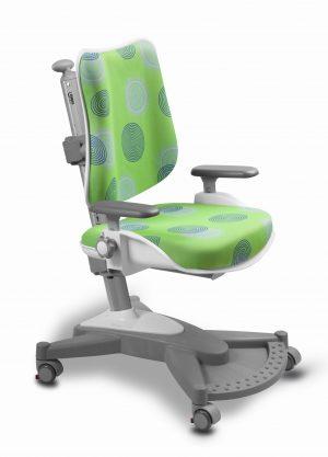 Rostoucí židle Mayer MyChamp zelená s kruhy