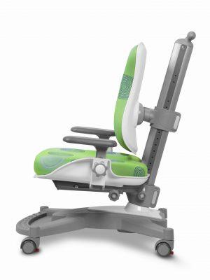 Rostoucí židle Mayer MyChamp zelená s kruhy z boku
