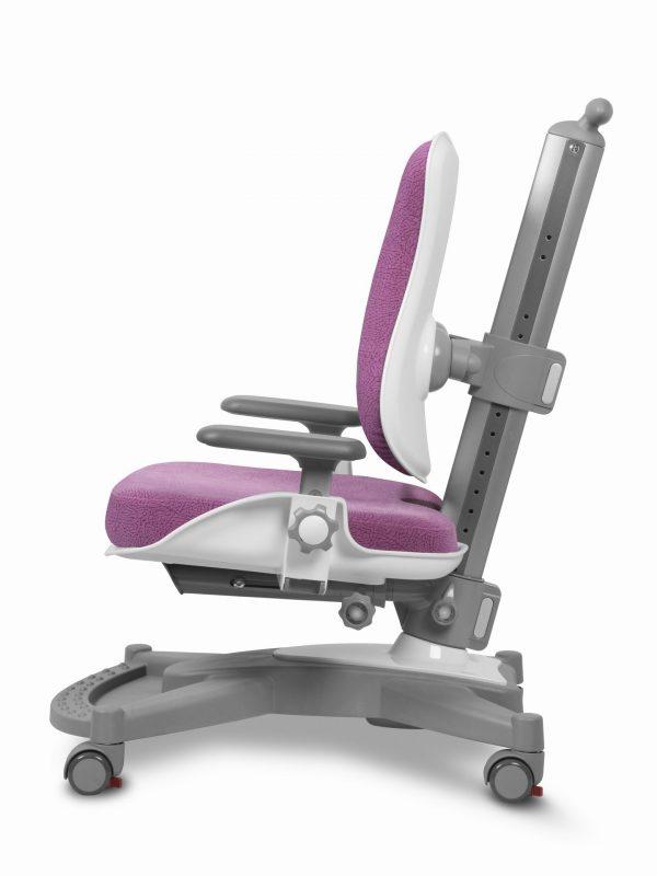 Rostoucí židle Mayer MyChamp růžový aquaclean z boku