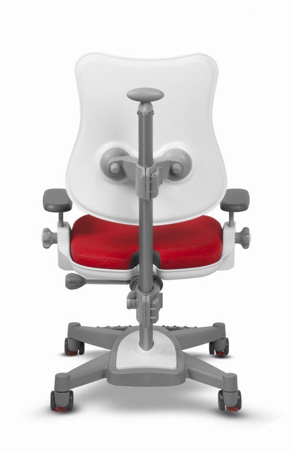 Židle pro školáky Mayer MyChamp červený aquaclean zadní pohled