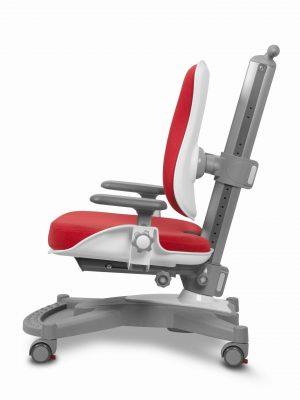 Rostoucí židle Mayer MyChamp červený aquaclean z boku