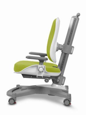 Rostoucí židle Mayer MyChamp zelený aquaclean z boku
