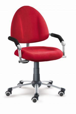 Dětská rostoucí židle Freaky aquaclean červený