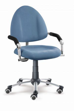 Dětská rostoucí židle Freaky aquaclean modrošedý