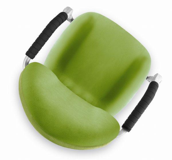 Rostoucí židle Freaky aquaclean zelený horní pohled