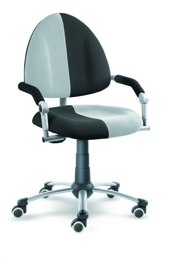 Dětská rostoucí židle Freaky aquaclean antracit / šedá
