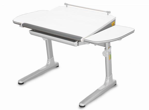 Rostoucí stůl Mayer Profi 3 5v1 bílý, šedá podnož - šedé prvky