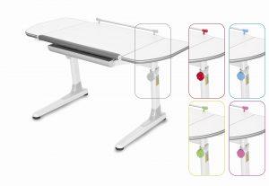 Rostoucí stůl Mayer Profi 3 5v1 bílý, bílá podnož