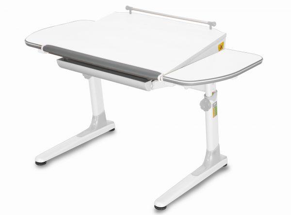 Rostoucí stůl Mayer Profi 3 5v1 bílý, bílá podnož - šedé prvky