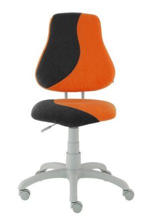 Rostoucí židle Alba Fuxo S-Line oranžová/černá