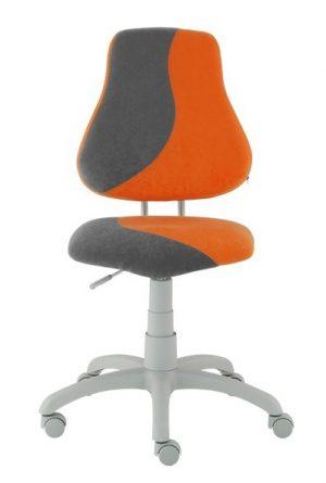 Rostoucí židle Alba Fuxo S-Line oranžová/šedá