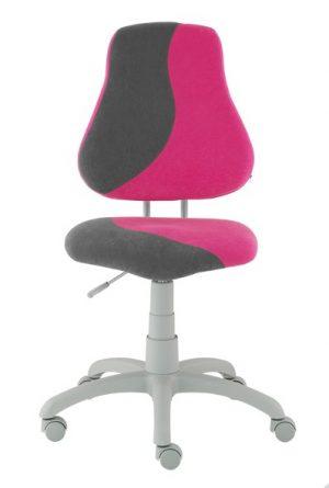 Rostoucí židle Alba Fuxo S-Line růžová/šedá