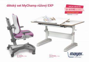 Dětský set růžový MyChamp - Expert