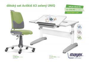 Dětský set zelený Actikid - Uniq