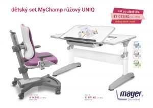 Dětský set růžový MyChamp - Uniq