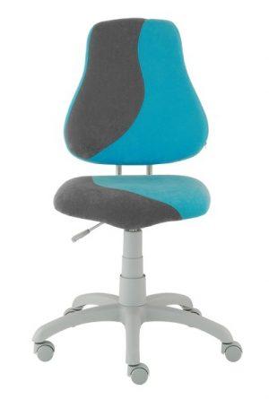 Rostoucí židle Alba Fuxo S-Line světle modrá/šedá