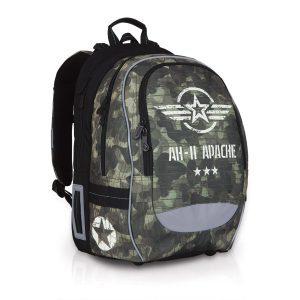 Školní batoh Topgal CHI 752 R - Khaki