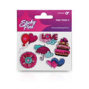 Sticky Pins Topgal PINS 17002 G