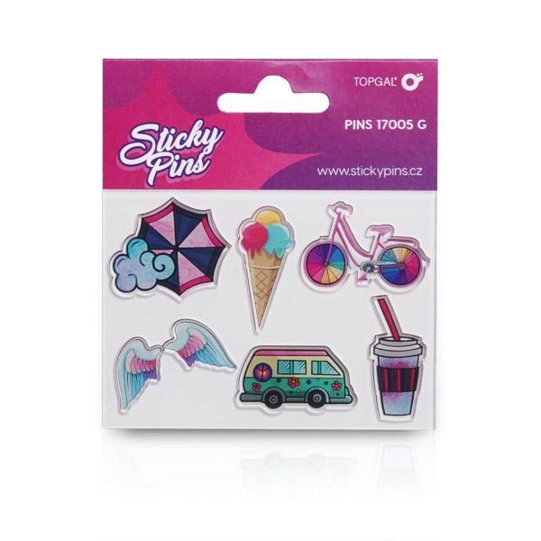 Sticky Pins Topgal PINS 17005 G