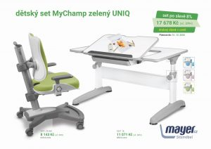 Dětský set zelený MyChamp - Uniq