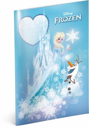 Školní sešit Frozen – Ledové království Castle, A4, 40 listů, linkovaný