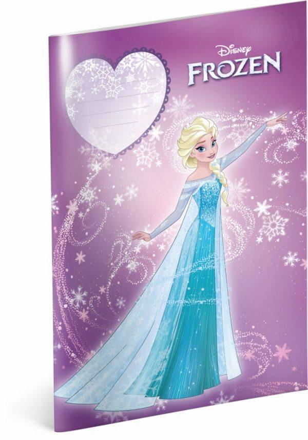 Školní sešit Frozen – Ledové království Power, A4, 40 listů, nelinkovaný