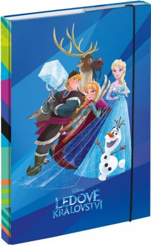 Desky na školní sešity A4 Frozen