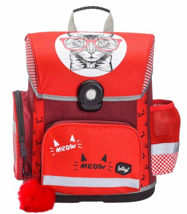 BAAGL Školní aktovka Kočka