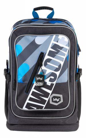 BAAGL Školní batoh Cubic Awesome