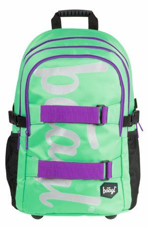 BAAGL Školní batoh skate Mint