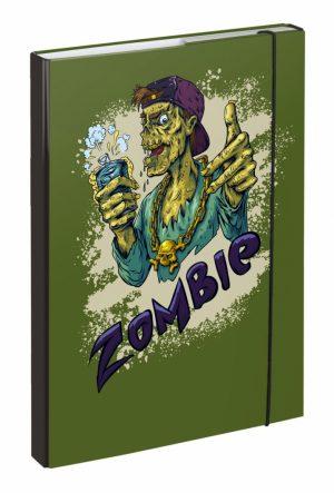 BAAGL Desky na školní sešity A4 Zombie