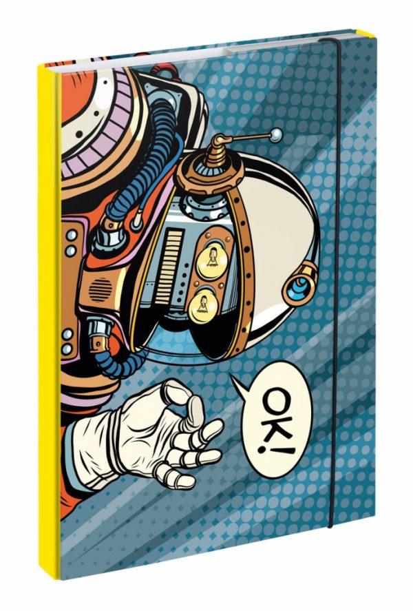 BAAGL Desky na školní sešity A4 Spaceman