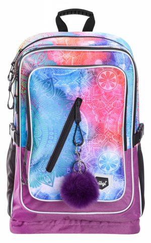 BAAGL Školní batoh Cubic Mandala