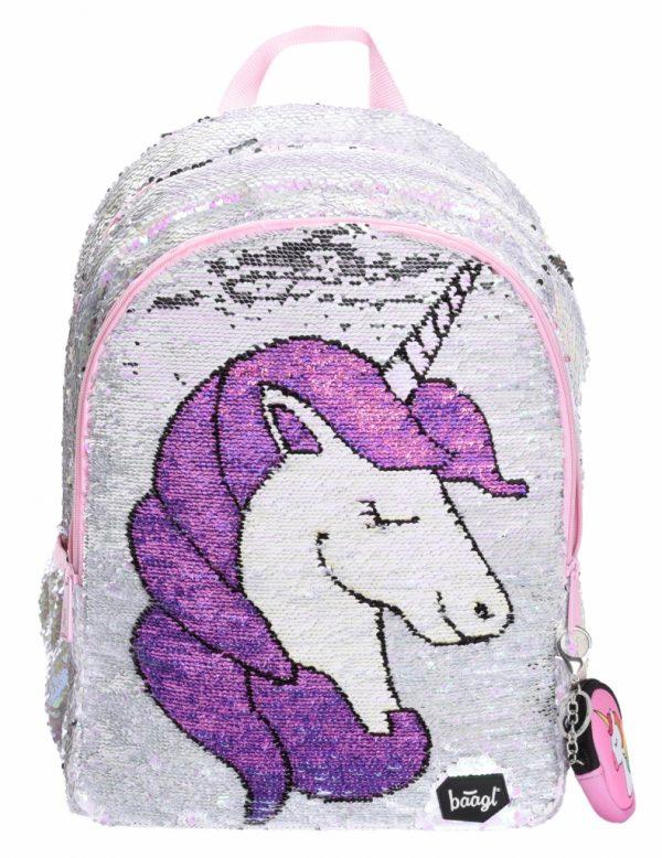 BAAGL Školní batoh Fun Unicorn