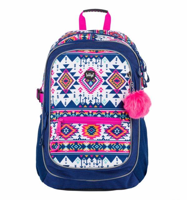 BAAGL Školní batoh Core Boho