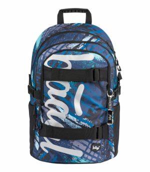 BAAGL Školní batoh Skate Struktury