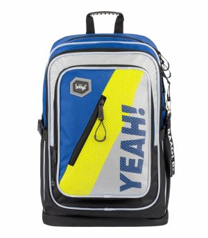 BAAGL Školní batoh Cubic Neon