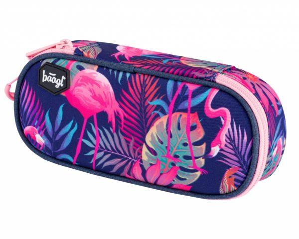 BAAGL Penál etue kompakt Flamingo