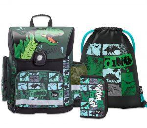 Školní set BAAGL Dino