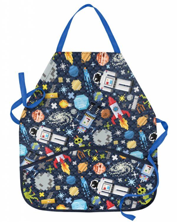 BAAGL Dětská zástěra Space Game