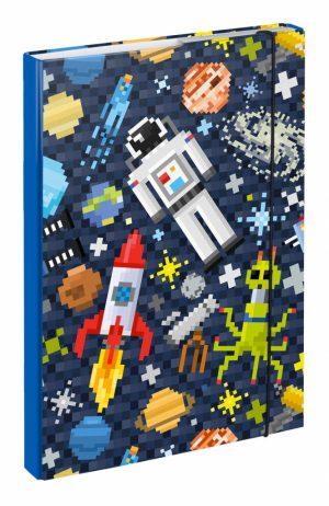 BAAGL Desky na školní sešity A4 Space Game