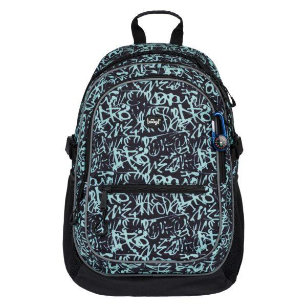 BAAGL Školní batoh Core Graffito