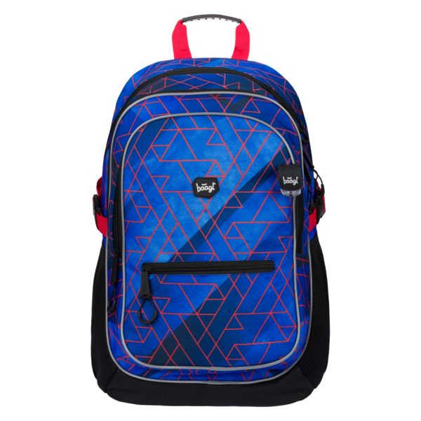 BAAGL Školní batoh Core Trigo