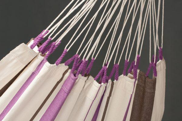 Houpací síť La Siesta Caribeňa Single - purple detail