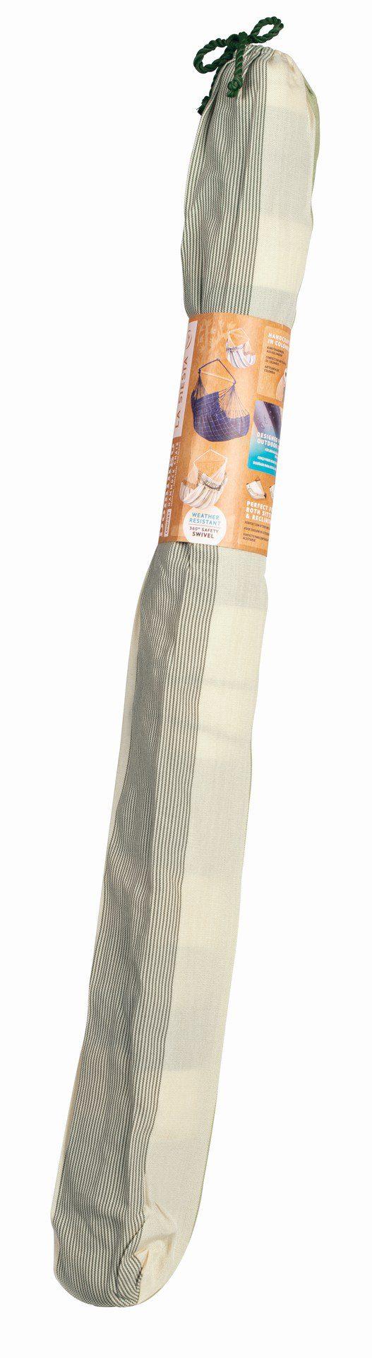 Závěsné houpací křeslo La Siesta Domingo Comfort - cedar balení