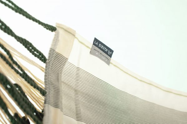 Závěsné houpací křeslo La Siesta Domingo Comfort - cedar detail